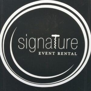 Signature Event Rental