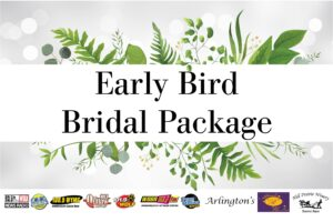 Early Bird Bridal Package Graphic Dec 2020-Jan 2021
